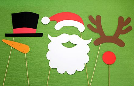 クリスマス向けのフォトプロップス無料素材