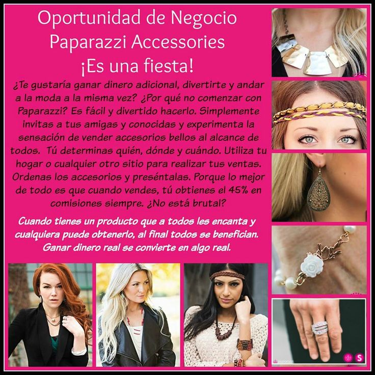 Oportunida de Negocio con Paparazzi Accessories