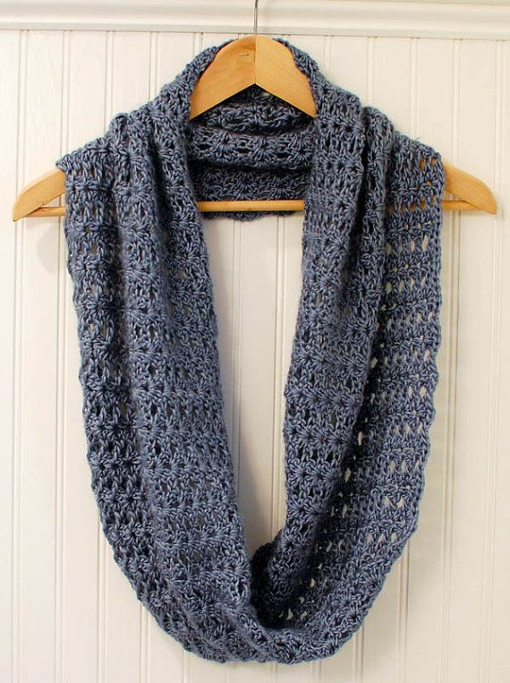 Crochet Pattern Mobius Infinity Scarf Wrap Pattern Includes Instructions To Customize Fit