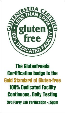 The Glutenfreeda program was created to help people with Celiac Sprue Disease learn to prepare all the foods they love, gluten-free. Our goal is to show the gluten-intolerant how to eat well, eat healthy and how to function happily in a gluten-engorged world. Glutenfreeda recipes will be enjoyed by your entire family and were selected to make eating a delicious experience, not a sacrifice.