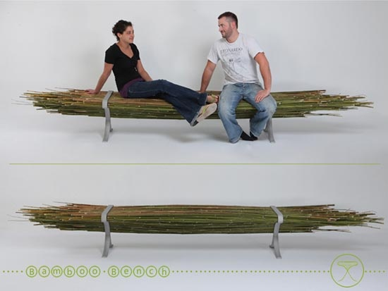 recycle design bench - Modern Chair Design - Wooden Chair, bamboo