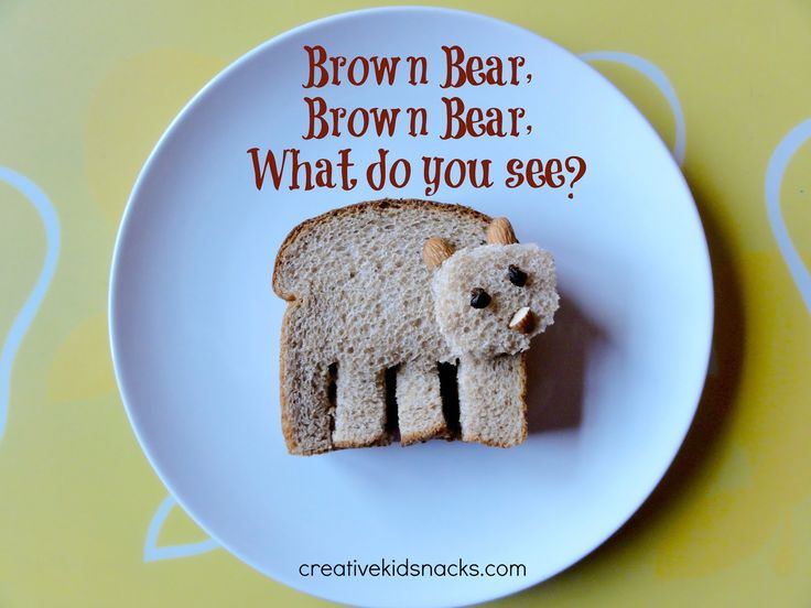 READ.PLAY.EAT: Brown Bear, Brown Bear, What Do You See?