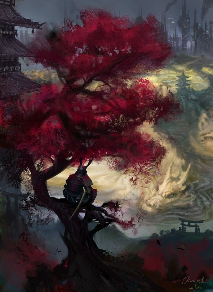 The Pixelated Nerd - art-shannonigans: Samurai meditation Gift to...