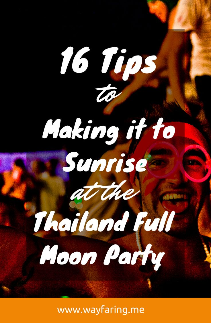 By day, bronze your body by the beach; by night, delight in the debauchery of others' (or your own). Yes, plan your trip to SE Asia around going to Thailand's Full Moon Party. It's worth it.