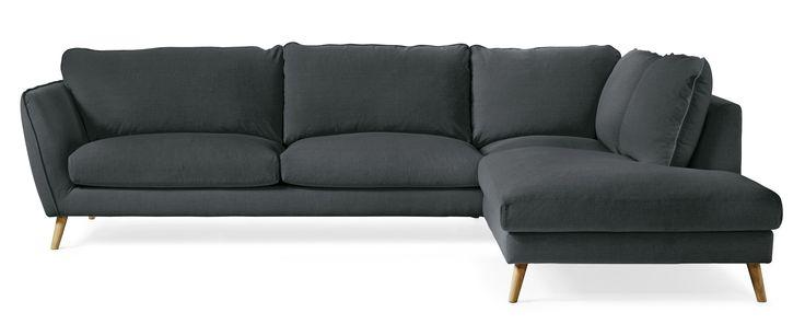 Madison är en byggbar soffa i skandinavisk stil. Soffan har en mjuk och skön komfort som gör att du gärna dröjer dig kvar. Madison är en genomtänkt soffserie, den har många fint arbetade detaljer och ger dig möjlighet att skapa en soffa som passar just för ditt hem. Du kan välja mellan fyra olika armstöd, ett antal olika ben och en mängd olika tyger och färger. Madison är soffan för dig som vill ha skandinavisk lyx med fantastisk komfort i ett trendigt formspråk.