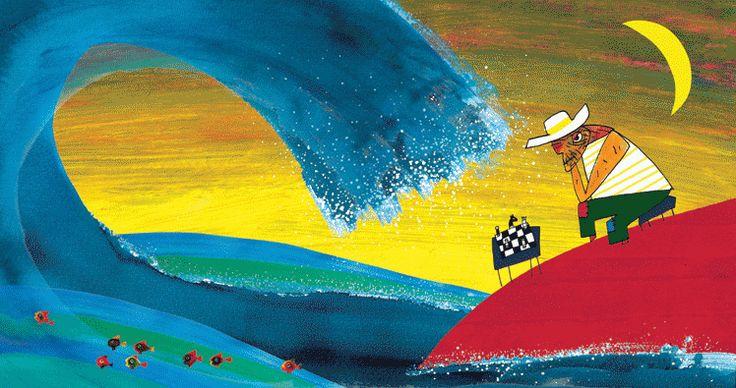 "Fondation Pilar & Joan MIRO -Palma de Mallorca exposition"" NAZO KANISA YO "" (JE PENSE A TOI ) de Wozniak                (juin 2013 - mars 2014)"