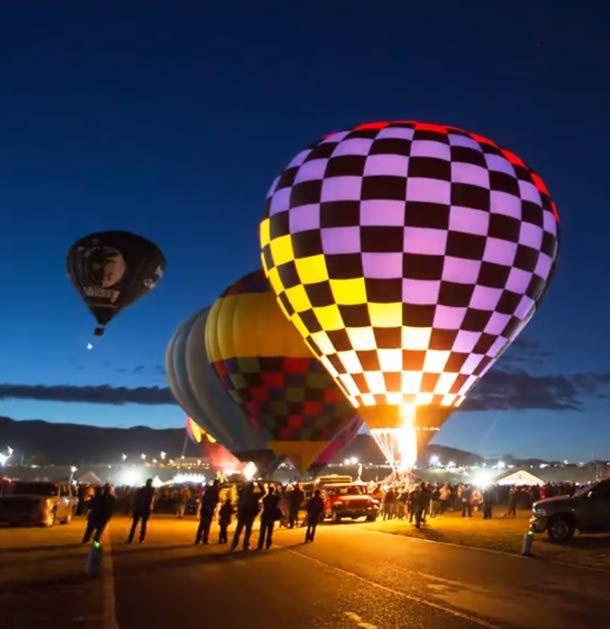Balloon Fiesta – Un festival de montgolfière en time-lapse   Ufunk.net