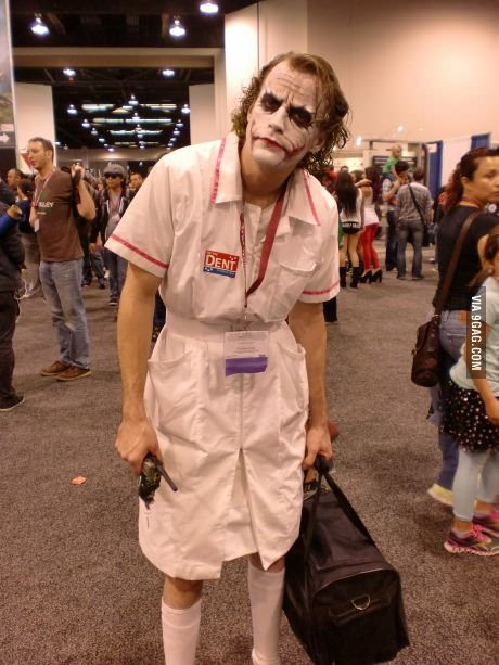 One of the best Joker's cosplay I've ever seen.