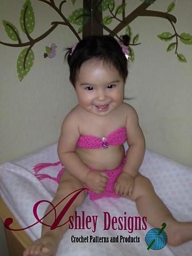 Bikini Baby Muster von Ashley Leither   – crochet patterns