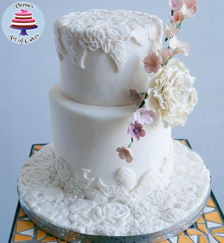 Bas Relief Cake - Veena's Art of Cakes
