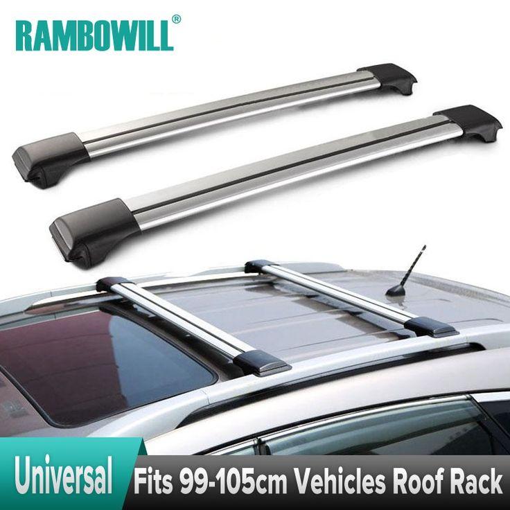 Roof Rack Cross Bars With Anti Theft Lock System Beamnova Aluminum CrossBars Car TOP Luggage Cargo Carrier Rails Gap