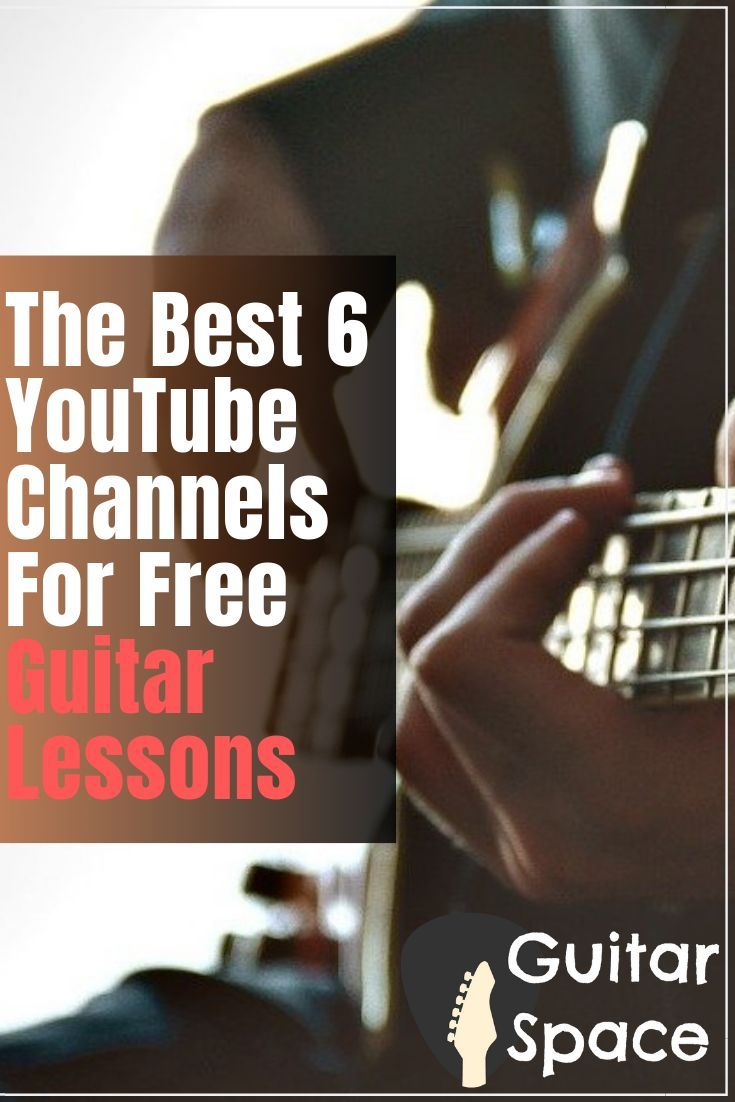 6 Best Youtube Channels For Free Guitar Lessons 2021 Free Guitar Lessons Online Guitar Lessons Electric Guitar Lessons