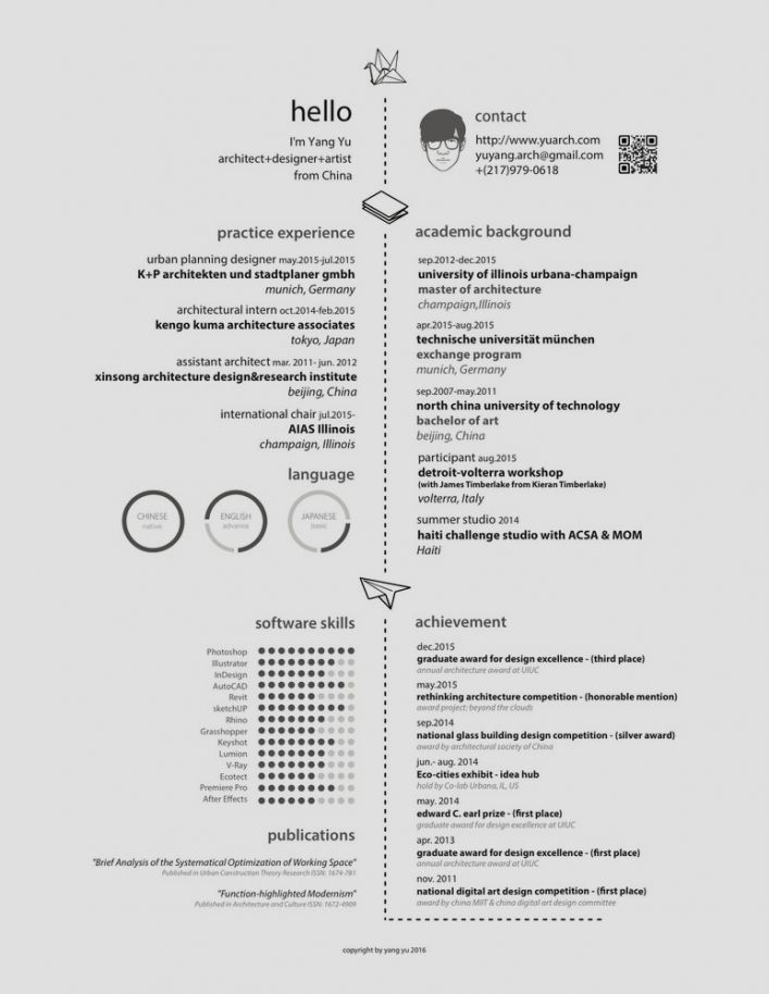 97 best Infographics \ Resume Layouts images on Pinterest Info - software designer resume