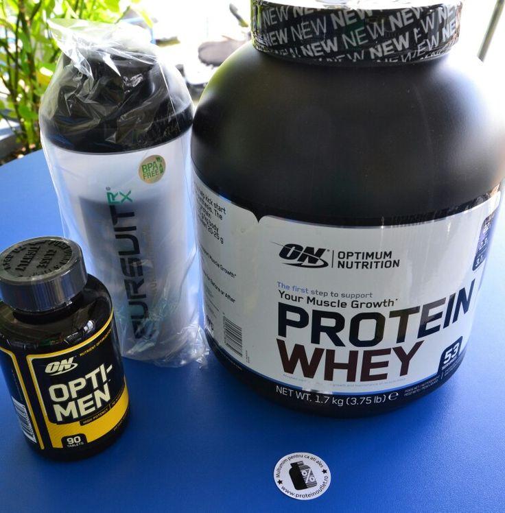 Optimum Nutrition #NEW #Protein #WHEY #Optimen #Shaker