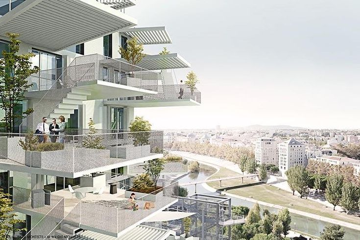 4 | This Amazing High-Rise Apartment Building Looks Like A Giant Tree | Co.Exist | ideas + impact