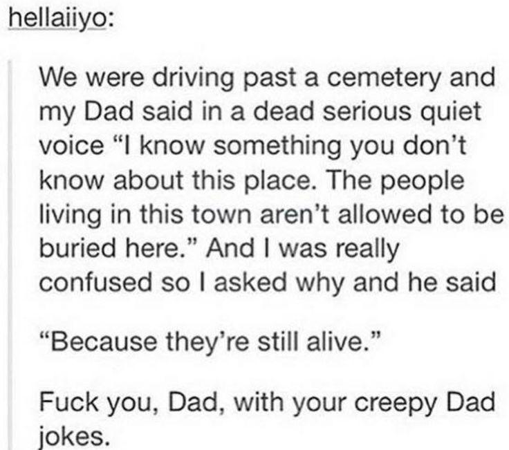c'mon dad