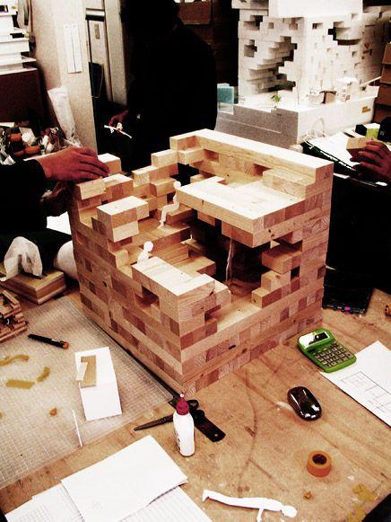 Final Wooden House, Sou Fujimoto Architects, 2008