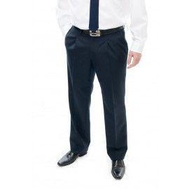Pantalón de hombre 1 pinza - Gabardina