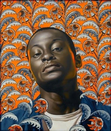 Self Portraits After Kehinde Wiley (The Calvert Canvas: Adventures in Middle…