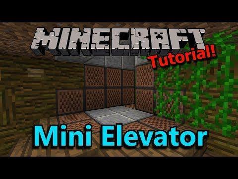 Minecraft: Mini Elevator [Tutorial]