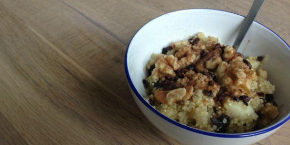 5 x quinoa recept || van ontbijt tot risotto