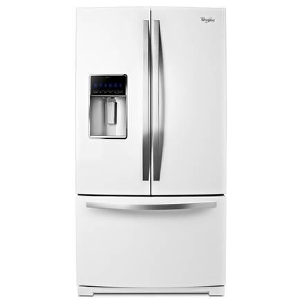 Whirlpool® 28.6 cu. Ft. French Door Refrigerator - White - Sears | Sears Canada $2599.99