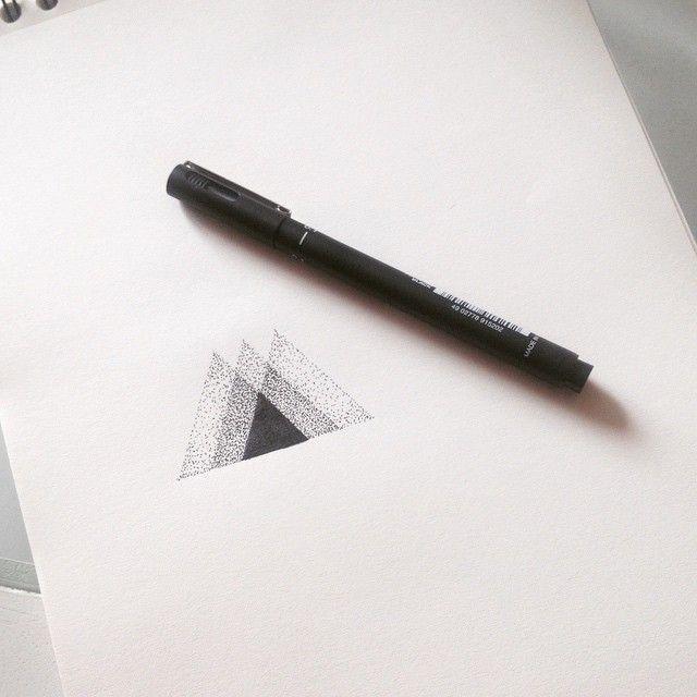 Pointillist Triangles