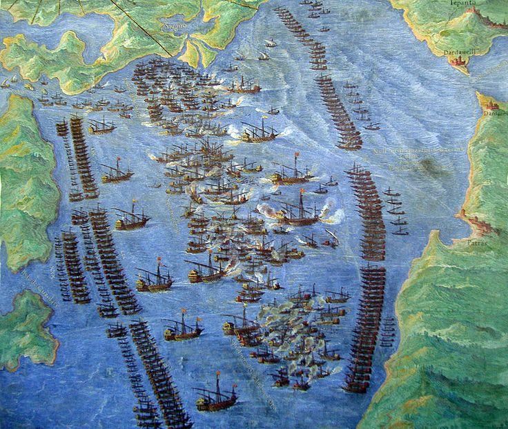 A Batalha de Lepanto Fernando Bertelli, 1572