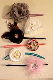 Baby Girl headbands!