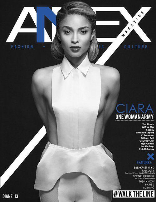 MRSHUSTLE LOVES: CIARA COVERS ANNEX MAGAZINE