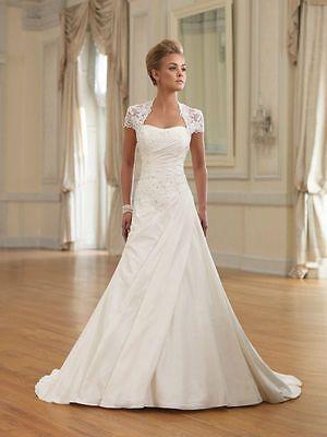 Hochzeitskleid mit spitze a linie