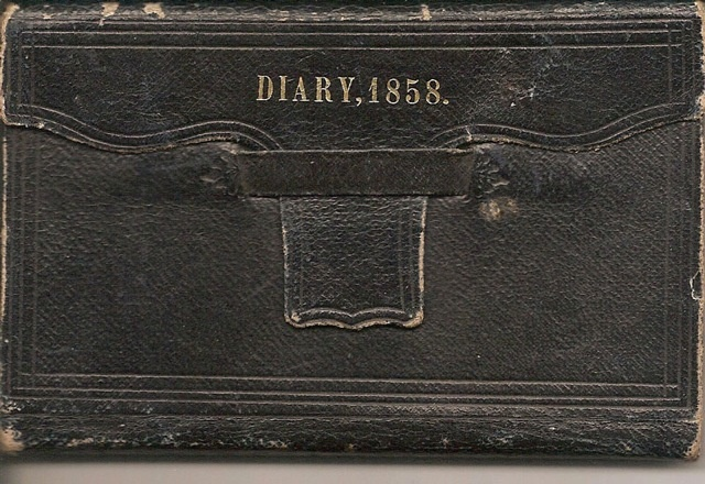 """Rare Fraser River Gold Rush (FRGR) Manuscript Diary, photo  and US Silver Half Dollar Coin. """"The Fraser Gold Rush was a seminal point in the history of British Columbia. It led Britain to declare the Colony of British Columbia, which was also known as the Mainland Colony, to assert British authority and governance over the territory, which had been unincorporated in the wake of the Oregon Treaty of 1846 NO FRGR MANUSCRIPT DIARY HAS EVER APPEARED ON THE MARKET. $45,000 USD"""