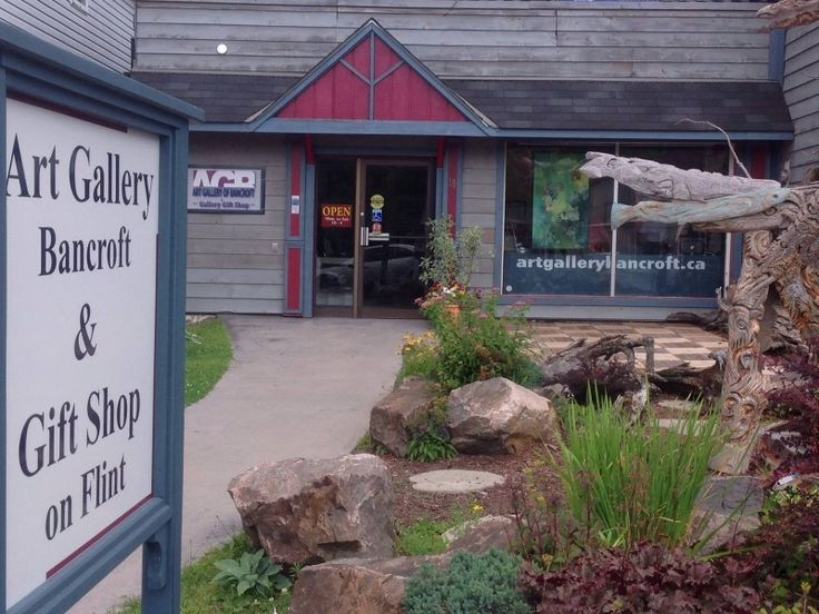 The Art Gallery of Bancroft (AGB) is a public art gallery in the town of Bancroft, Ontario, Canada.  Operated by  volunteers and financed by fundraising, the AGB mounts 12 exhibitions per year focusing on local  artists.