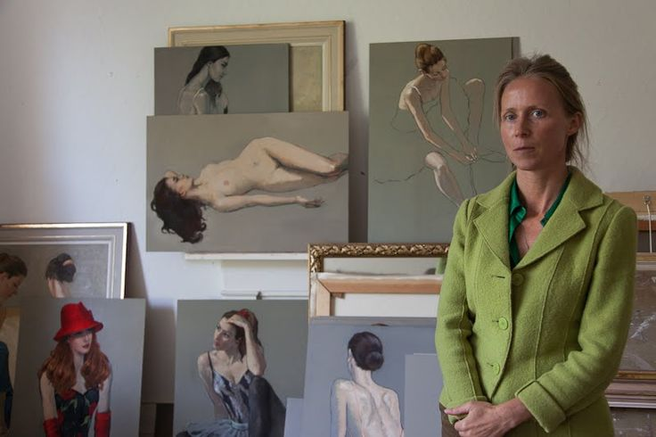 Katya Gridneva - The Artist and the Ballerinas