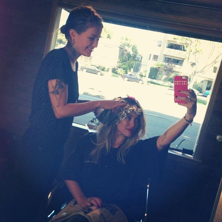 Hilary Duff : Elle aussi a une nouvelle coiffure 2014