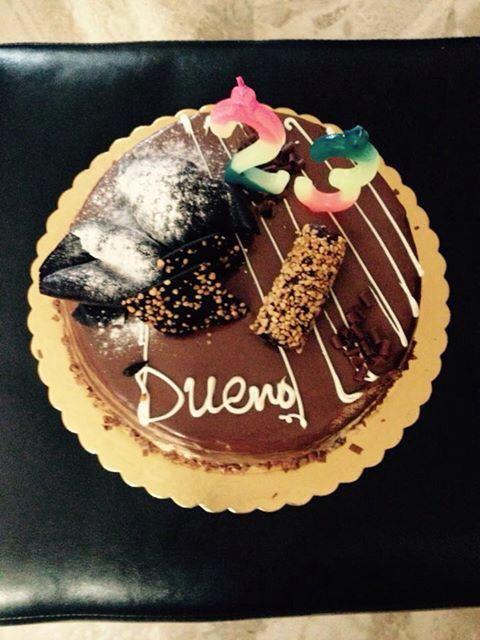 Bueno birthday cake foodporn