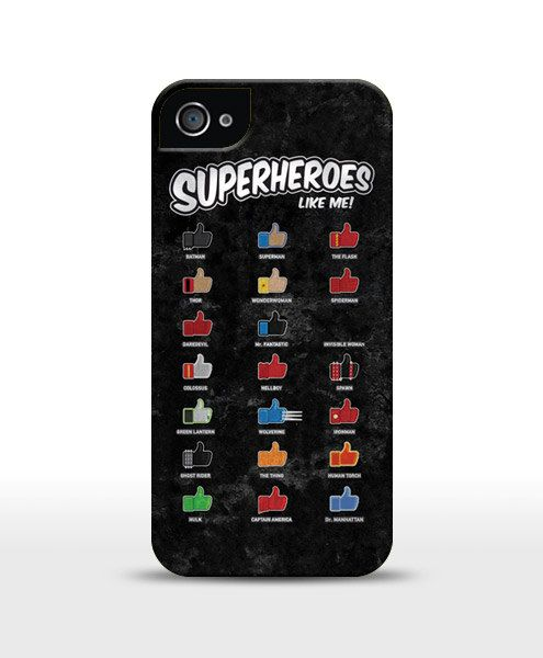 Superheroes Like Me Funny Iphone 44S55S66 Galaxy by store365