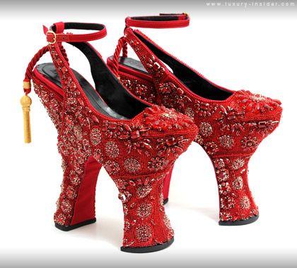 Alexander McQueen shoes, 2009