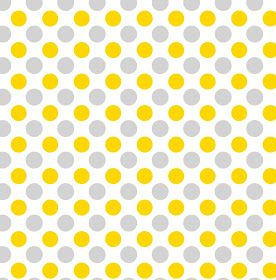 Inkscape Tutorial: Free seamless polka dots svg in gray and gold colors combination