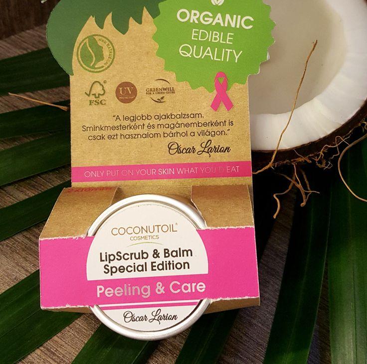 """A csábítás második legfontosabb """"kelléke"""" az ajak! SPECIAL EDITION! Nagyon fontos a mindennapi ajakápolás, mert ajkunk szerkezetében nincs faggyúmirigy, pigment, ezért sokkal érzékenyebb mindenre, körültekintő ápolást igényel. #oscarlarion #makeupartist #specialedition #coconutoilcosmetics #lip #scrub #balm #organic #edible #quality"""