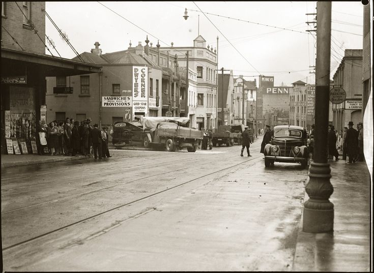 Streetscape, Chippendale early 1940s