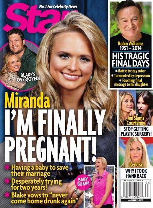Miranda Lambert Pregnant With First Child - Blake Shelton Wants a ...