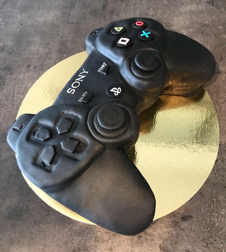 ps3 controler cake