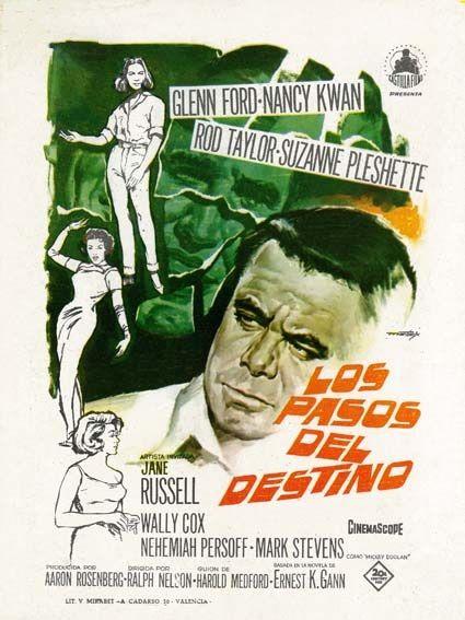 """Los pasos del destino (1964) """"Fate Is the Hunter"""" de Ralph Nelson - tt0058091"""