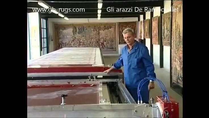 ARAZZI DE RAMBOUILLET, CREAZIONE E PRODUZIONE by gb rugs