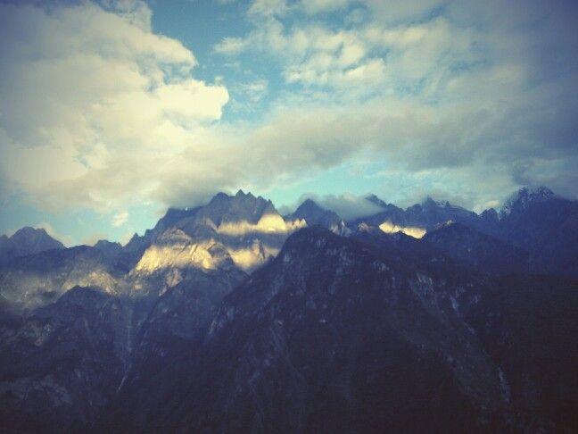 Jade Dragon Snow Mountain, China.