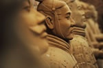 More than 2,000 years ago, the Chinese emperor Shihuangdi went to his tomb with thousands of life-sized clay soldiers