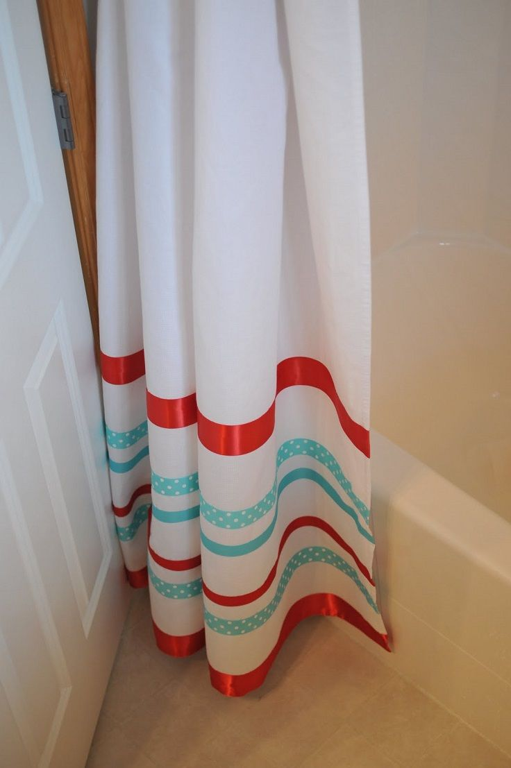 Diy shower curtain ideas 10 easy to make diy shower curtain ideas - Update Your Bathroom With One Of These 15 Fun Diy Shower Curtain Projects Simple To Make With Easy To Follow Tutorials There S A Design To Fit Any Style
