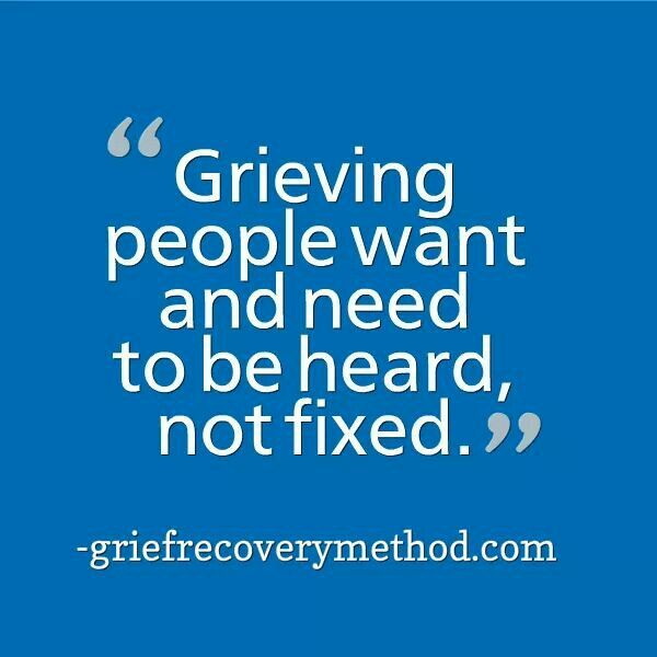 How To Support A Grieving Husband