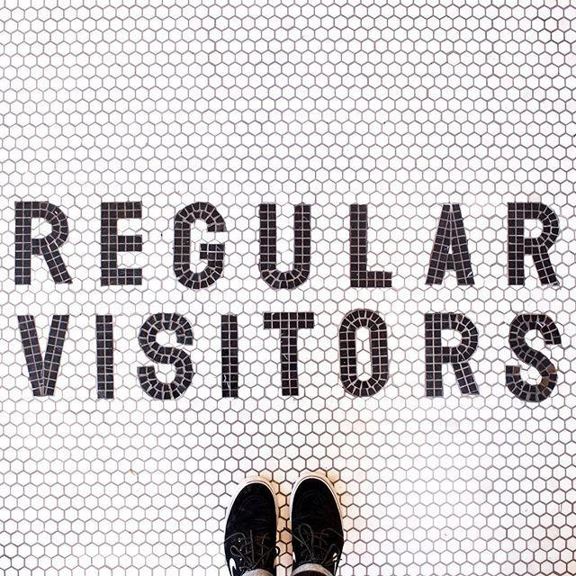 All are welcome.  #regularvisitors #boerumhill #ihaveathingwithfloors
